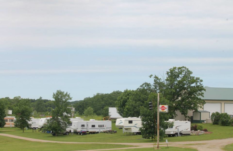 Campground at Heisler's Country Camping.