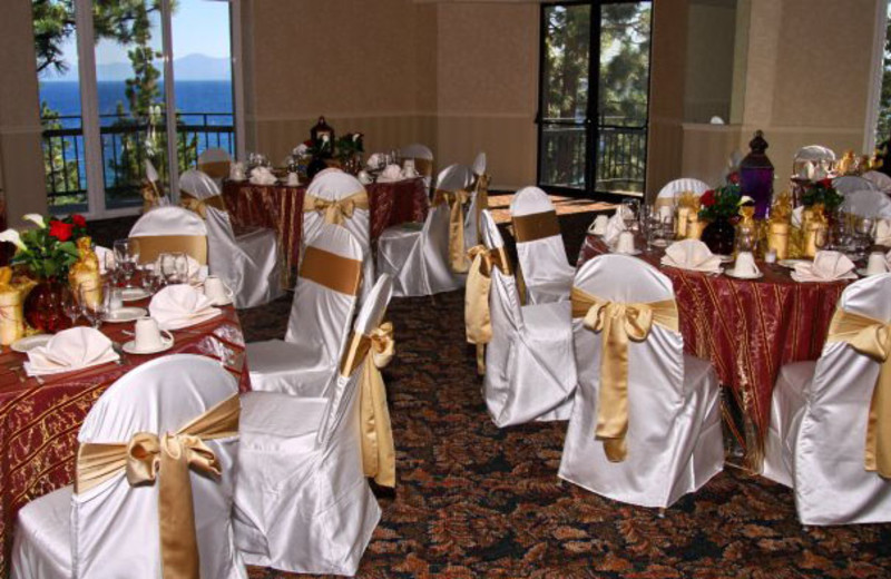 Wedding Reception at Cal Neva Resort Spa & Casino