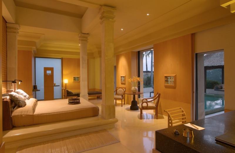 Guest suite at Amanjiwo.