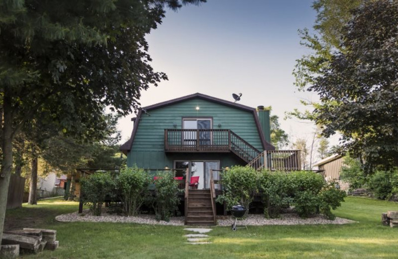 Rental exterior at Sand County Service Company - Dellview Lake Lodge.