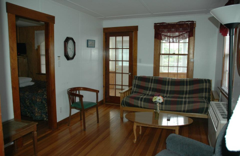 Cottage Interior at Channel Waterfront Cottages