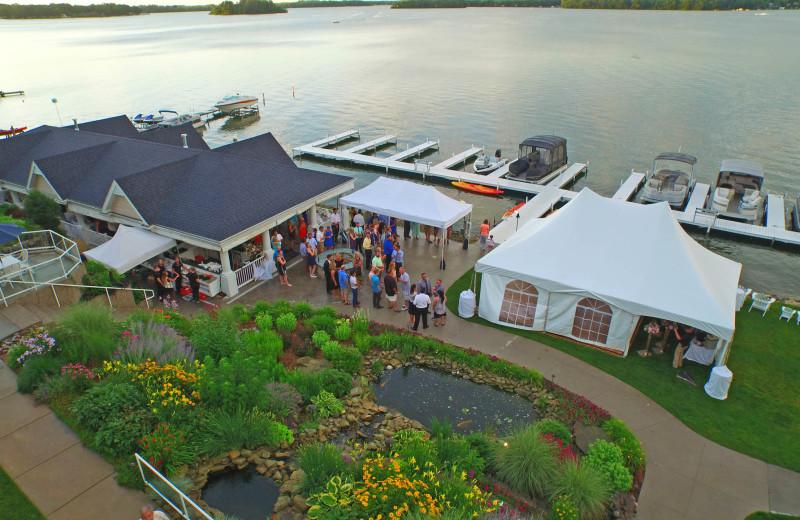 Groups at Bay Pointe Inn Lakefront Resort.