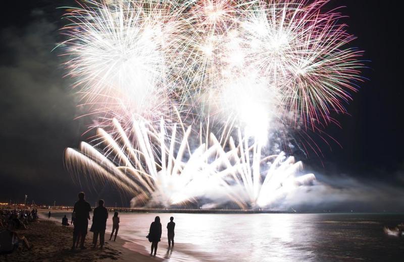 Fireworks at VIP Vacation Rentals LLC.