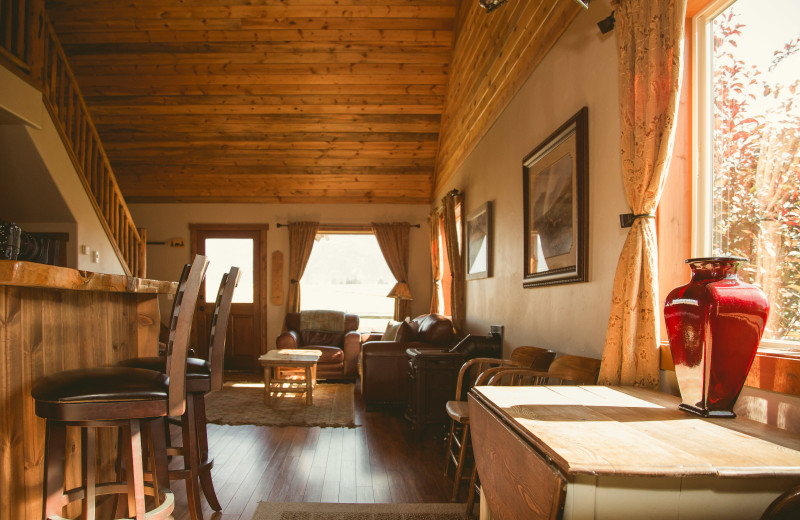 Guest interior at Gentry River Ranch.