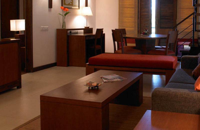 Guest suite at Angsana Oasis Spa & Resort.
