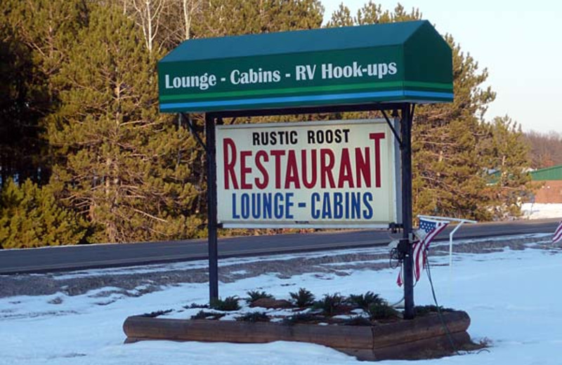 Welcome to Rustic Roost Motel Dining.