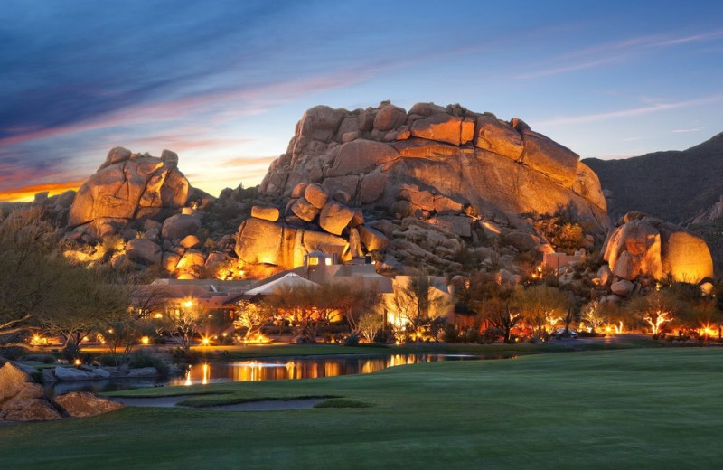 Exterior view of The Boulders Resort, The Waldorf Astoria Collection.