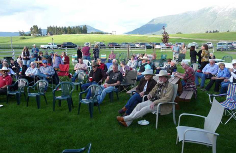 Gatherings at Gentry River Ranch.