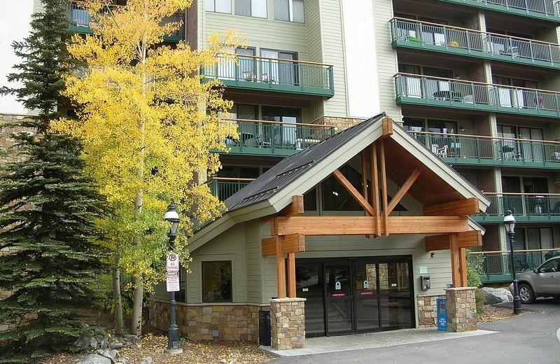 Rental entrance at Summit Vacations.