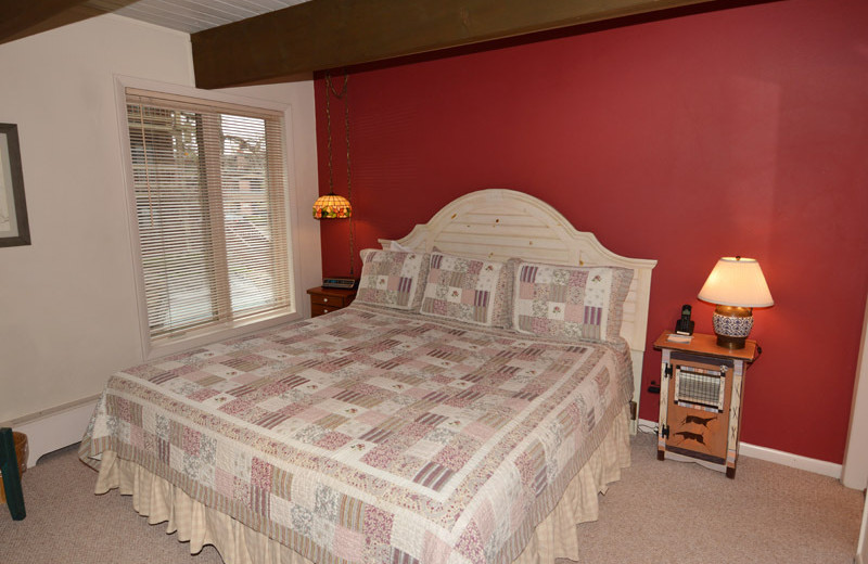 Vacation rental bedroom at Frias Properties of Aspen - Chateau Dumont #2.