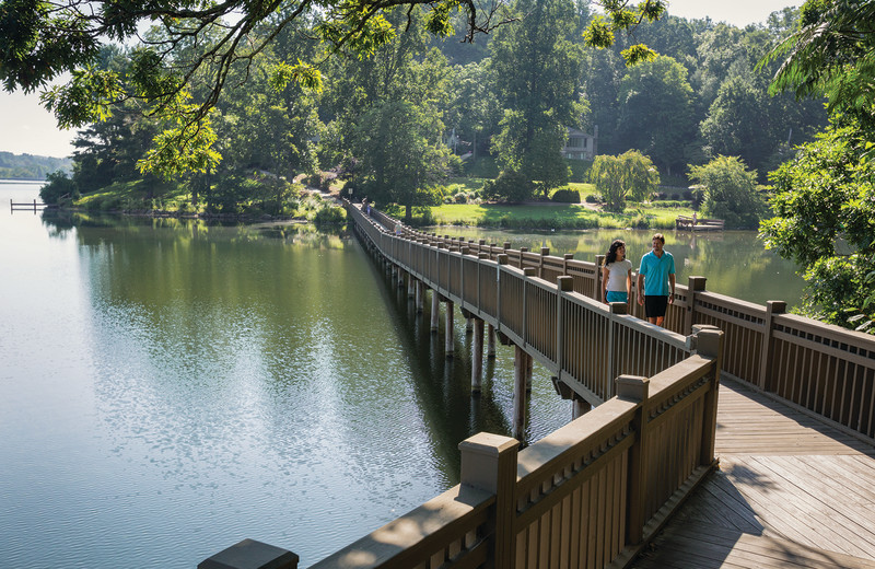 The Lake Junaluska Walking Trail offers fitness and relaxation opportunities.
