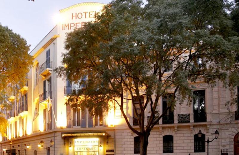 Exterior view of Hotel Imperator.