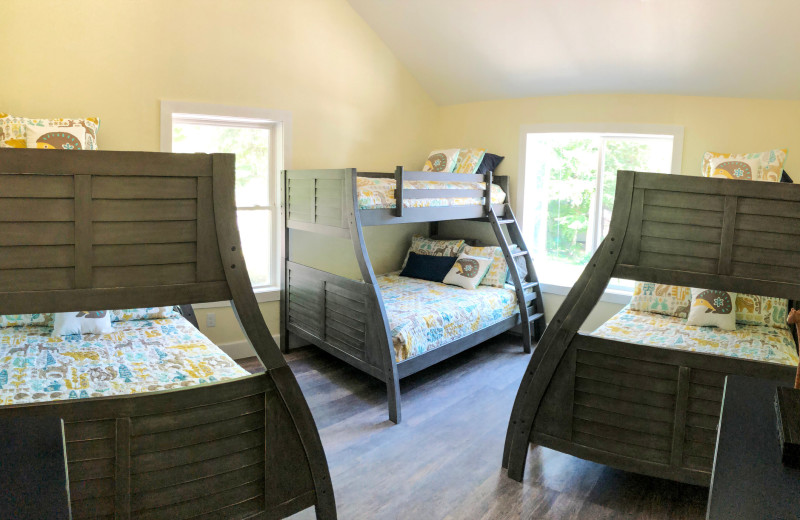 Rental bedroom at Northern Living - Luxurious Vacation Rentals