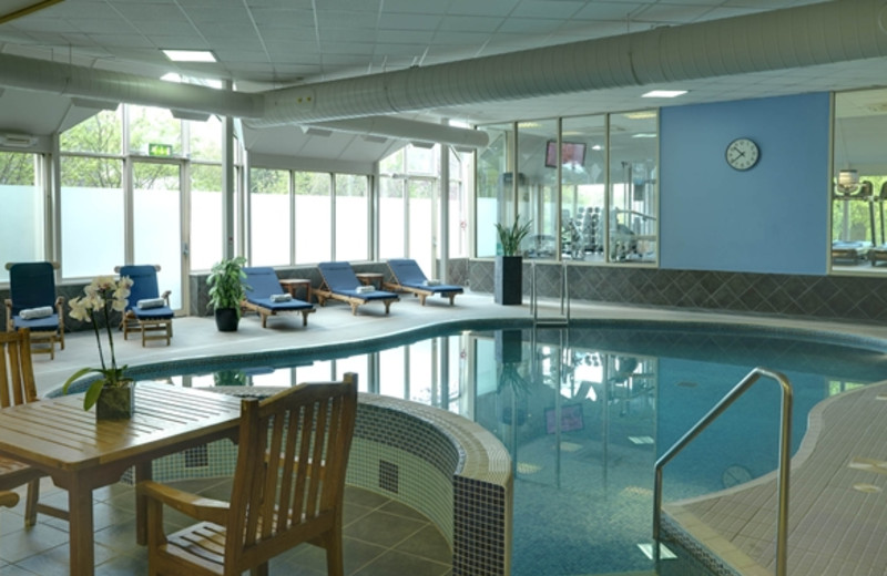 Indoor pool at DoubleTree by Hilton Hotel Dundee.
