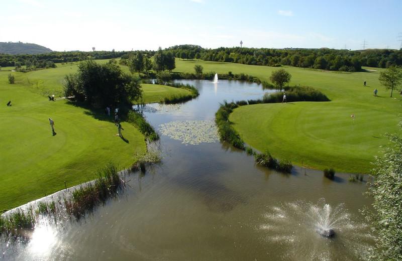 Golf course near Schloss Hotel Monrepos.