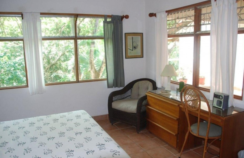 Guest room at Villa Alegre Bed & Breakfast on the Beach.