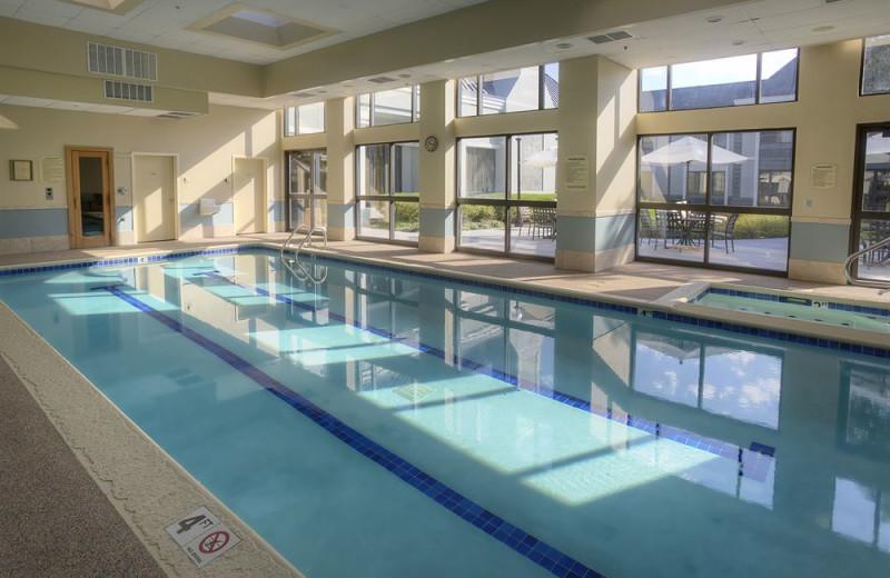 Indoor pool at Doubletree Hotel Detroit/Novi.