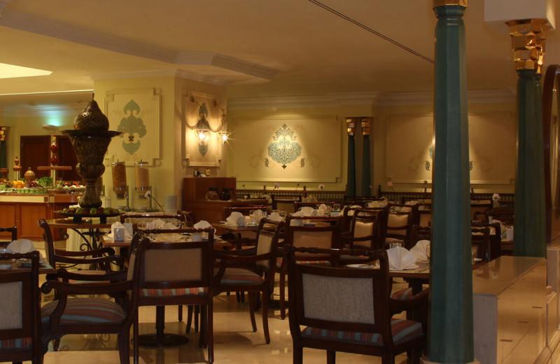 Dining at Medina Oberoi.