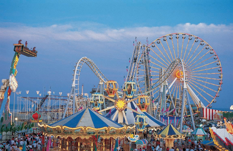 Amusement park at Diamond Crest Motel.