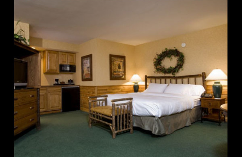 Guest room at Otsego Club and Resort.
