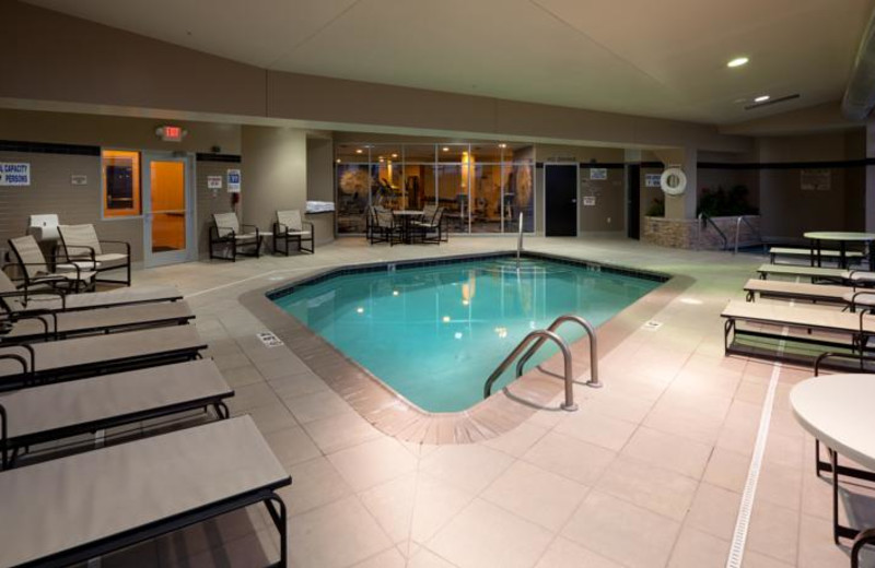 Indoor pool at SpringHill Suites.