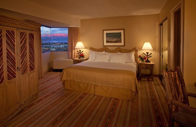 Guest room at Hotel Albuquerque at Old Town.