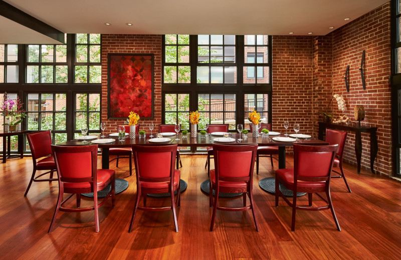 Dining at The Ritz-Carlton Georgetown.