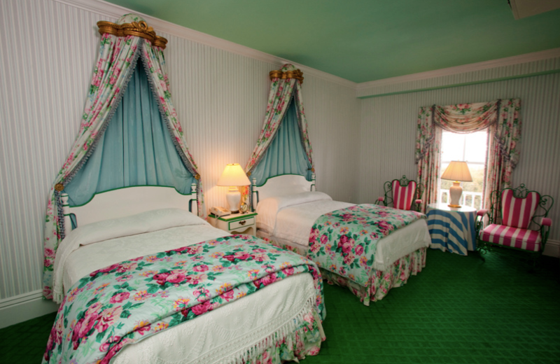 Guest room at Grand Hotel.