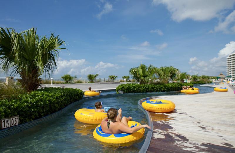 Rental pool at Paradise Gulf Properties.