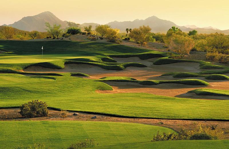 Golf course near Estrella Inn.