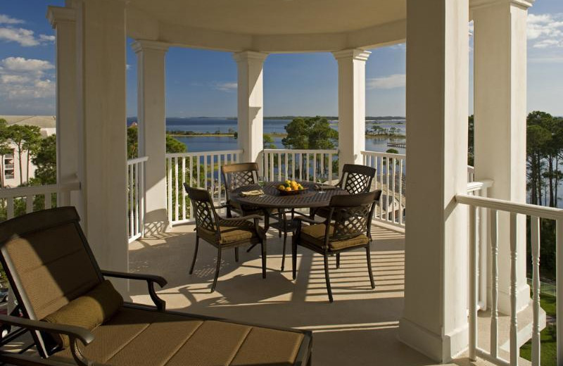 Patio at Sterling Resorts.