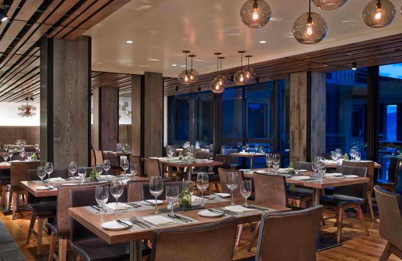 Dining at The Westin Snowmass Resort.