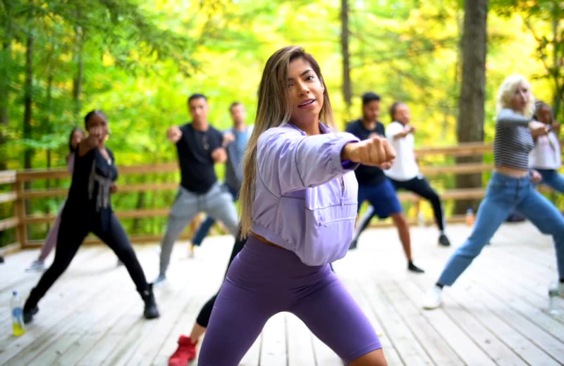 Wellness Class at Honor's Haven Retreat & Conference