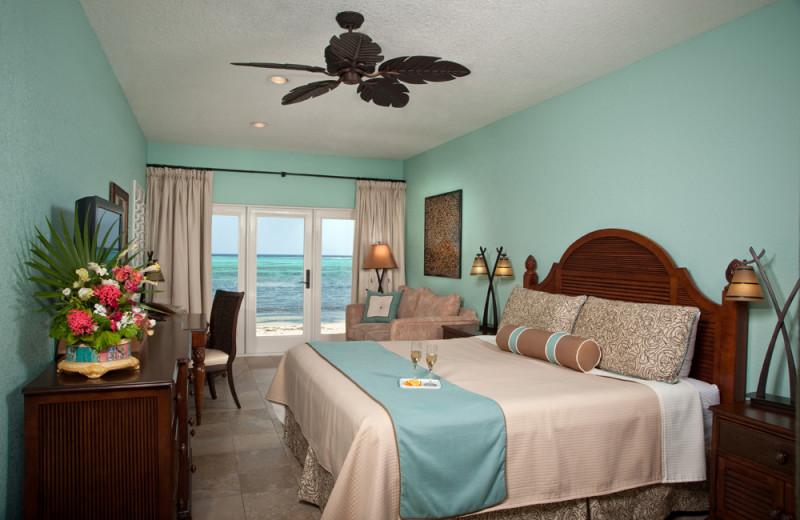 Guest room at Little Cayman Beach Resort.