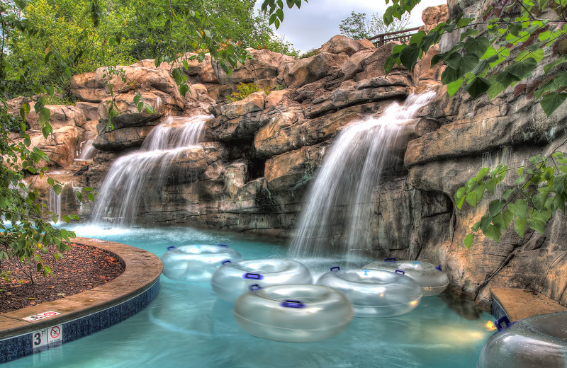Lazy River at Riverstone Resort & Spa.
