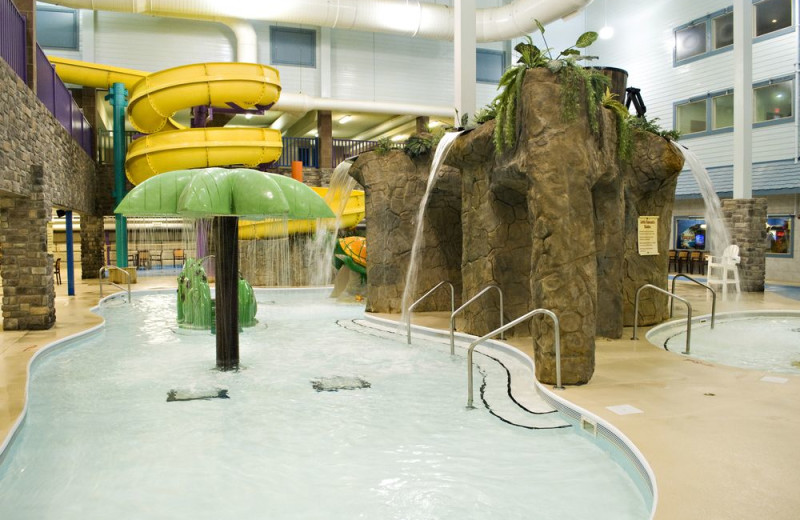 Water park at Castle Rock Resort and Waterpark.