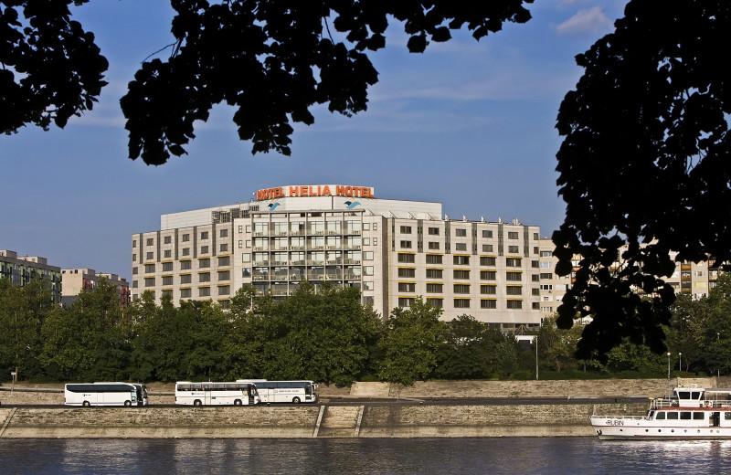 Exterior view of Danubius Thermal Hotel Helia.