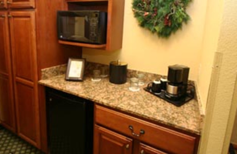 Kitchenette at The Inn at Christmas Place