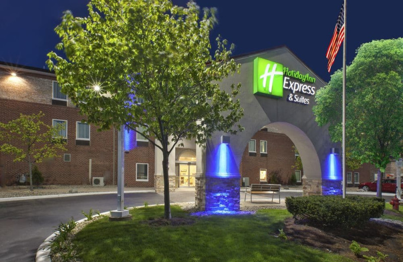 Exterior view of Holiday Inn Express Hotel & Suites - Benton Harbor.