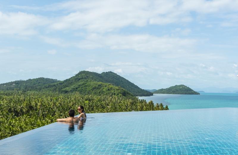 Outdoor pool at InterContinental Samui Baan Taling Ngam Resort.