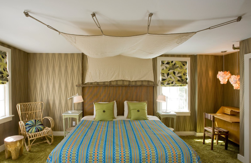 Guest room at Maidstone Arms.