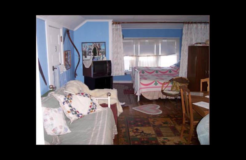 Guest room at Northrop-Oftedahl House B & B.
