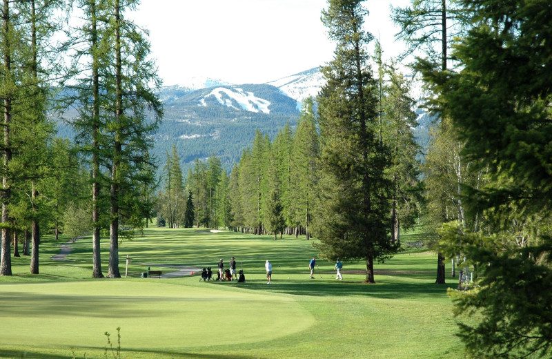 Golf course near Five Star Rentals of Montana.
