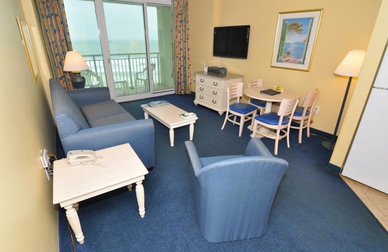 Guest living room at Avista Resort.