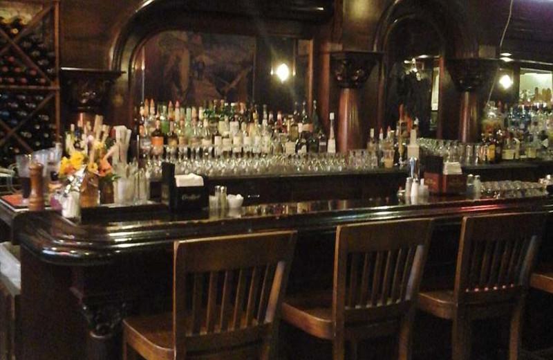 The bar at Gilmore Hotel.