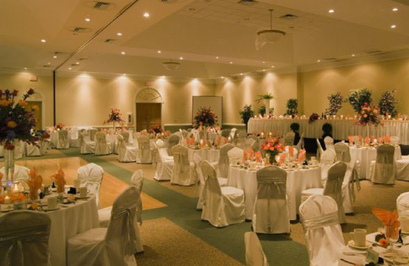 Wedding reception at Sea Trail Resort.