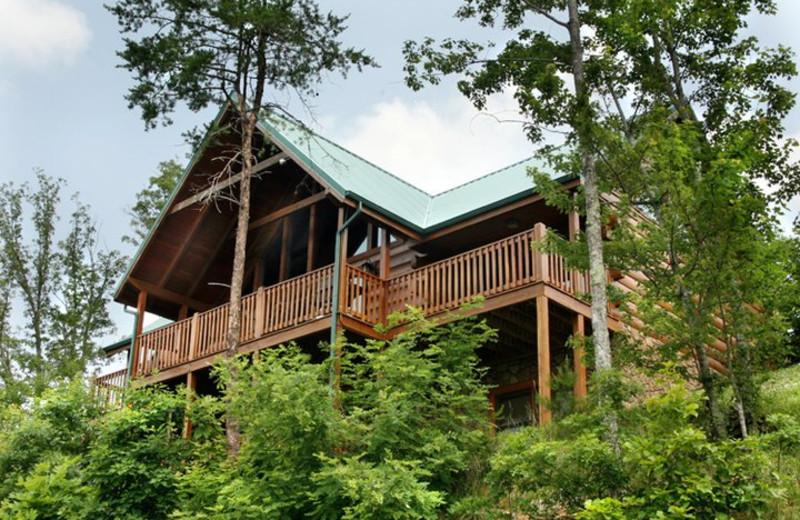 Rental exterior at Jackson Mountain Homes.