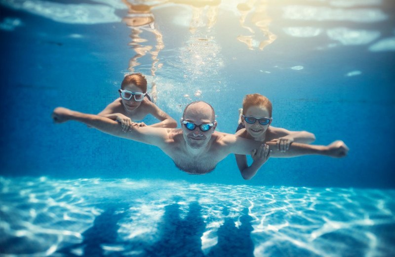 Pool at Great Blue Resorts- Shamrock Bay Resort.