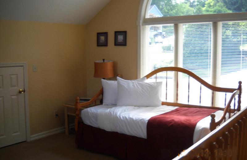 Rental interior at The Quarters at Lake George.