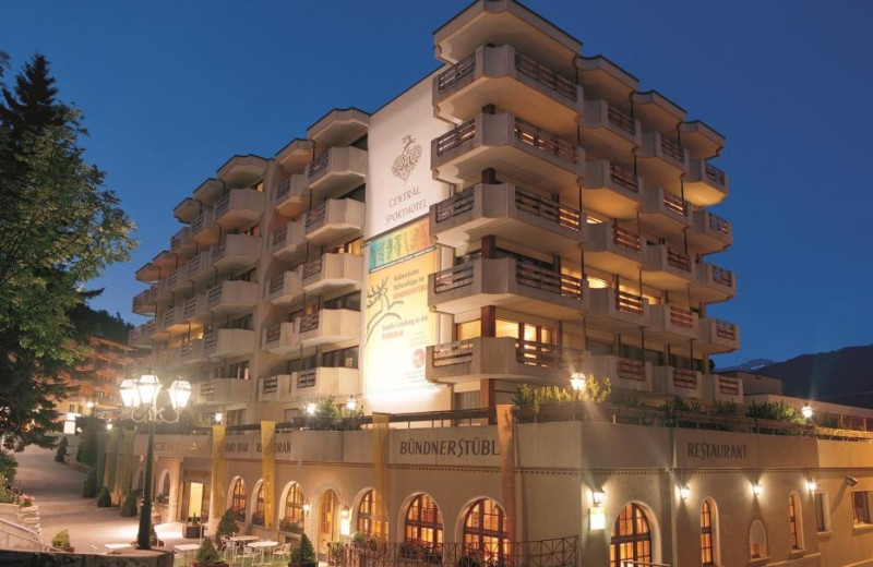 Exterior view of Central Sporthotel Davos.